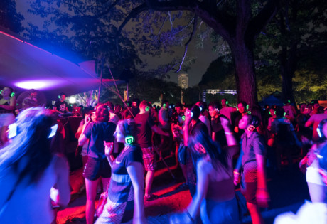 Silent Disco - one of the 20 coolest things that happened this year in our opinion