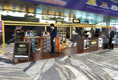 Changi Airport's Male Grooming Club is now open