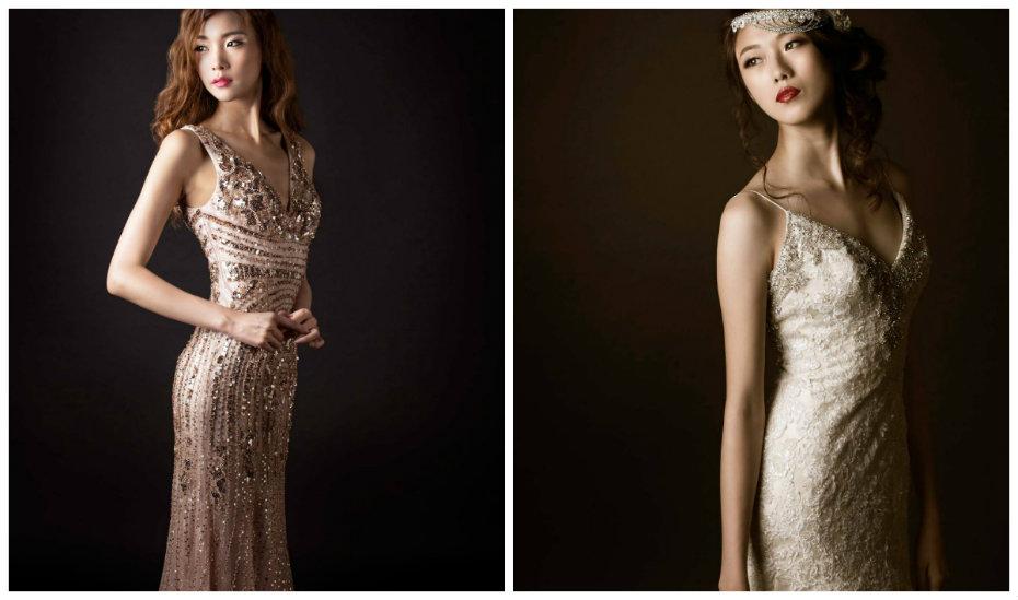 Evening dress in singapore money