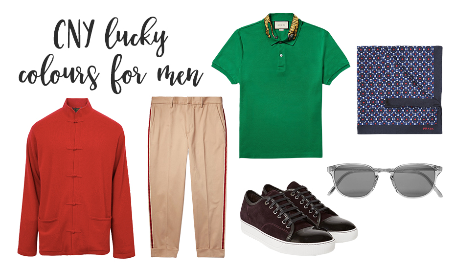Chinese New Year 2017 outfits for men: Lucky feng shui colours to wear this year of the rooster
