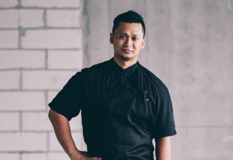 Executive Chef Muhammad Haikal Johari of Alma by Juan Amador (Photo credit: Water Library)