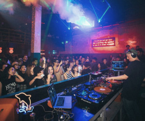 Cherry Discotheque transforms from a hip-hop haven into a junglist's playground for one night only (Credit: Colossal Photos)