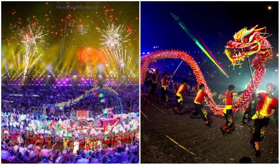 Chingay is Singapore's biggest cultural parade