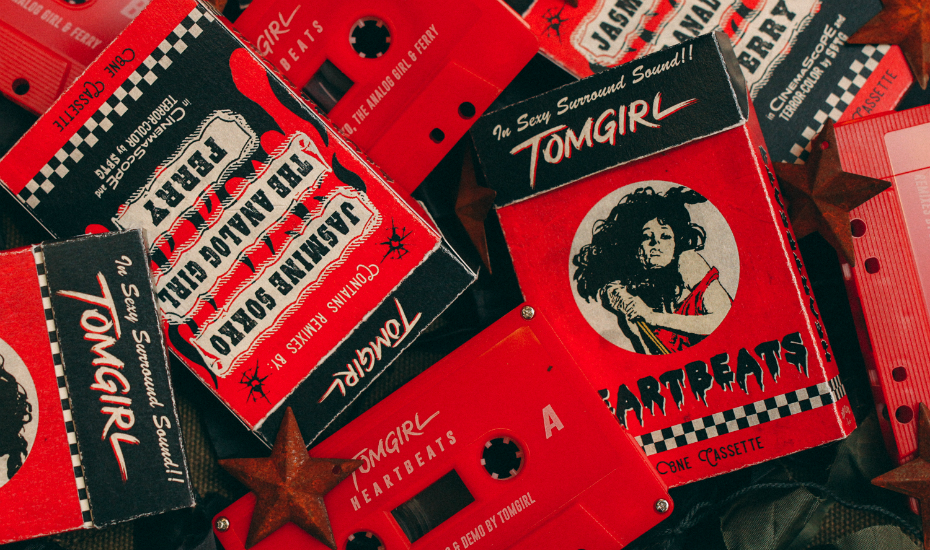 Get your hands on these limited edition cassettes for an invitation to TOMGIRL's secret show (Credit: Melvin Betaphats)