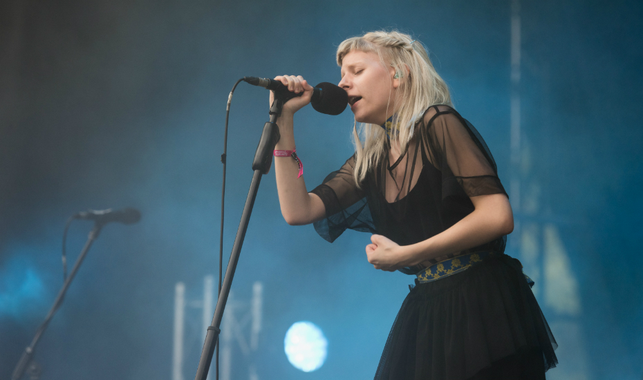 At just 20, Aurora is already a star (Credit: Lionel Boon / Laneway Festival Singapore)