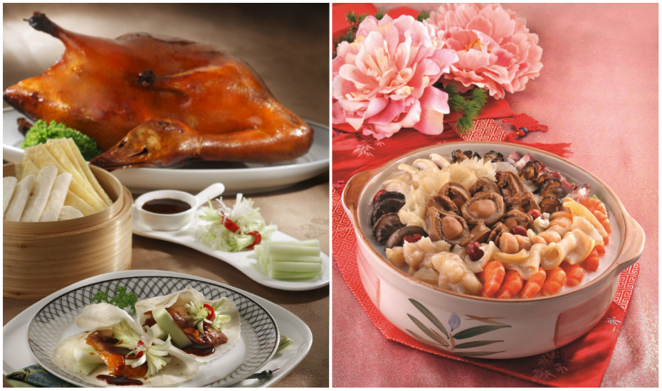 Be sure to try Prima's signature dish, Peking duck!
