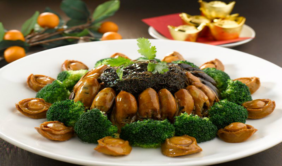 Can't go wrong with Tao's braised abalone