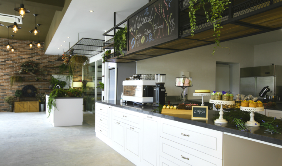 Wildseed serves freshly-brewed coffee by day and garden-inspired cocktails by night