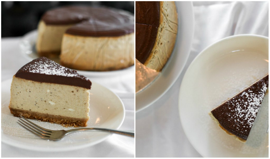 Dark Chocolate Banana Cheesecake