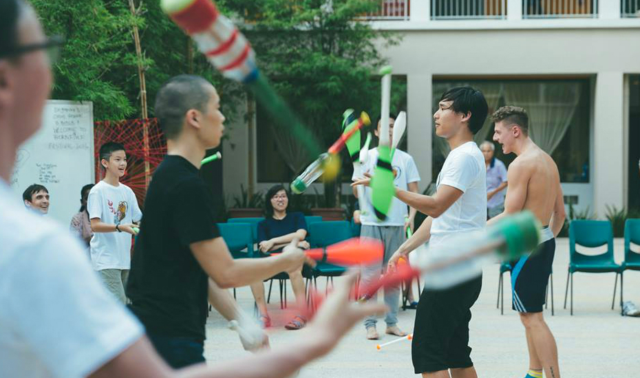 Wanna get handsy? Here's where you can nail a juggling routine with local circus collective, Bornfire