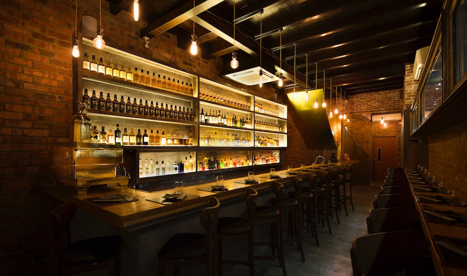 Bar review: Visit The Wall in Tanjong Pagar for unique whiskies paired with sumiyaki
