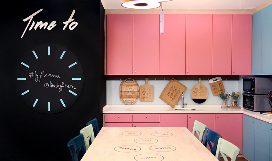 This new co-living and co-working space by lyf will make you want to go back to school