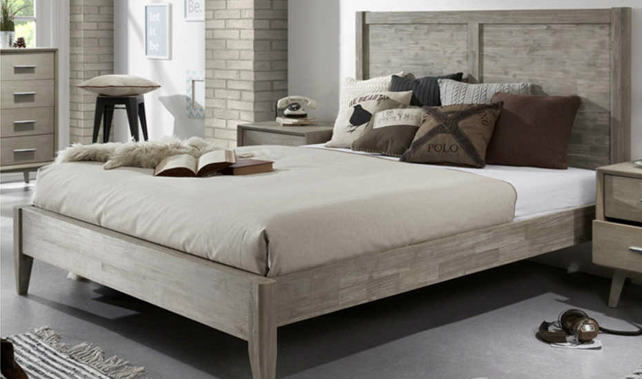 wooden bed frames leicester