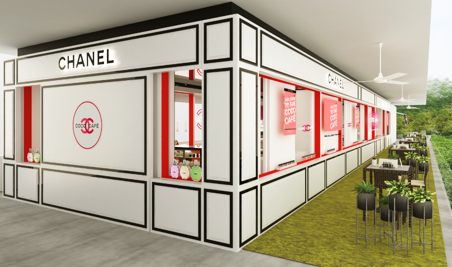 Singapore beauty news: Chanel's Coco Café is coming to Singapore