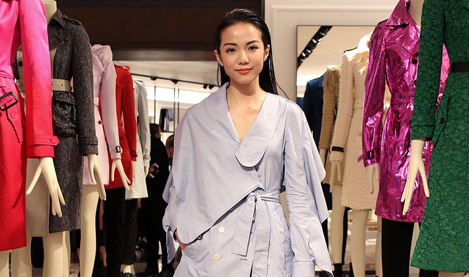 Shopping in Singapore: Copy the outfits of local celebs at Burberry's Tales of a Trench Coat Exhibition