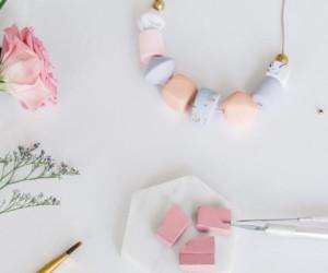 Creative workshops Singapore Longue Vue polymer jewellery design Honeycombers