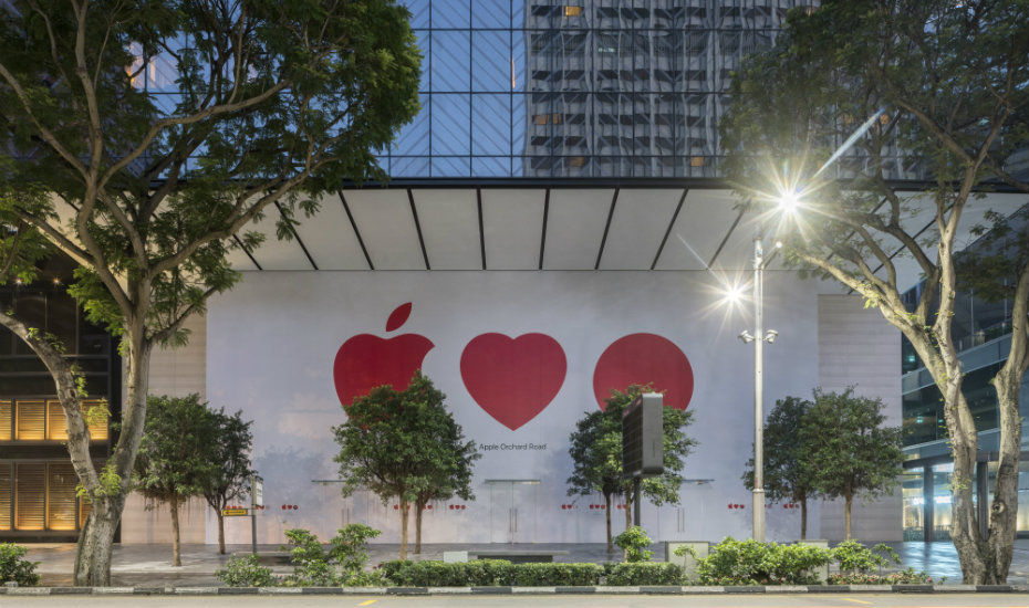 Secret's out: Singapore's first Apple Store is opening soon on Orchard Road