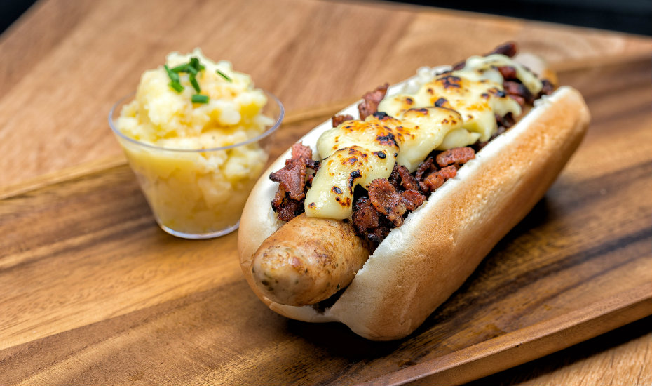 Hotdogs in Singapore: Be Frank in Orchard Road serves jazzed up renditions that are wieners in our books