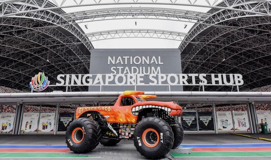 Jam In Singapore The World S Best Monster Trucks To Wreak Havoc
