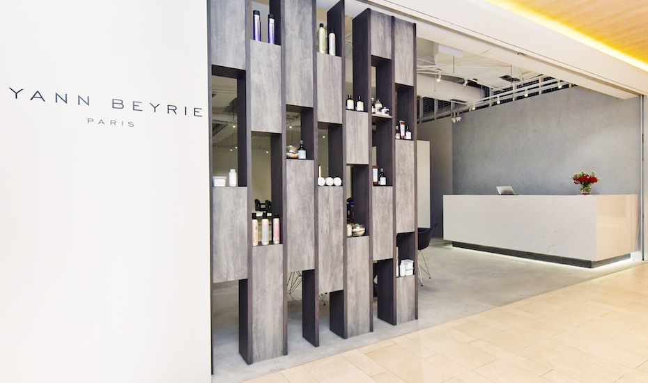 Hair salons in singapore we go for a hair spa and haircut for A luxe beauty salon