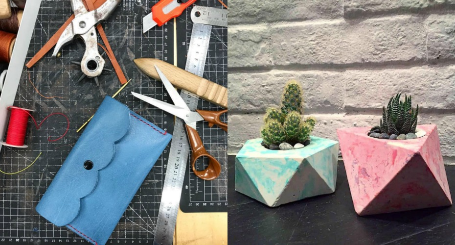 Craft workshops in Singapore: Where to learn pottery, silversmithing, leather crafting, glass bead making and concrete casting this Youth Month