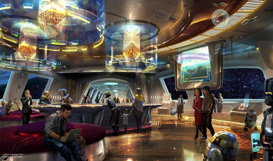 We can't believe this Star Wars-themed hotel is opening in Walt Disney World in Orlando, Florida