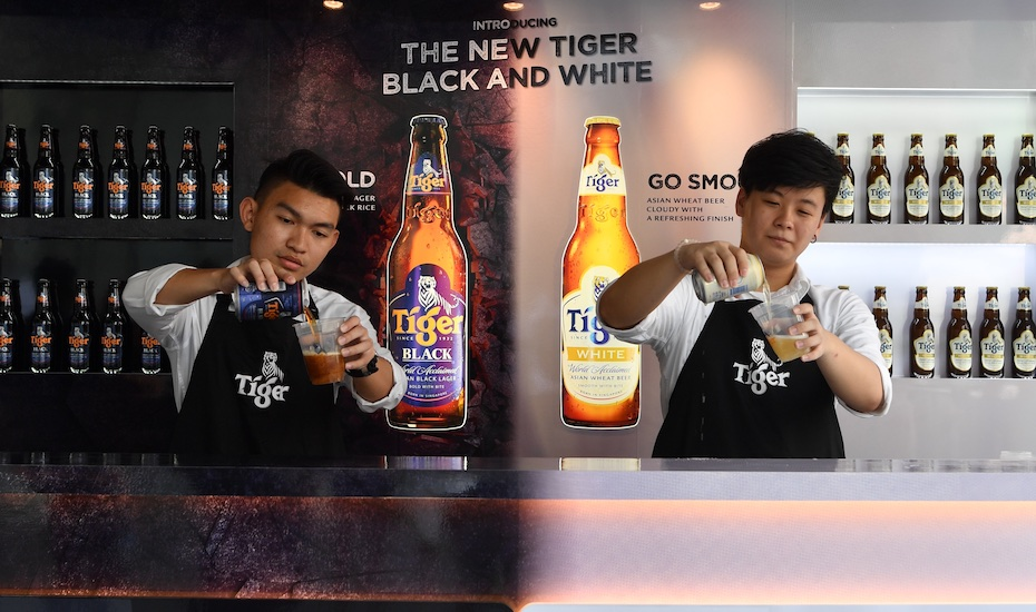 Tiger Beer goes black and white with two new flavours you must try