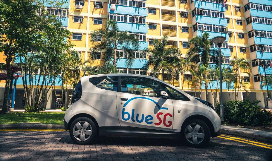 BlueSG brings electric car-sharing to Singapore
