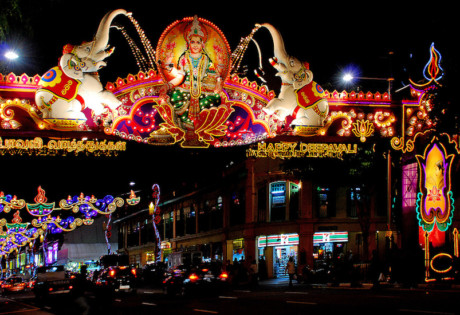 Deepavali Little India Street Light Up Honeycombers Singapore photography Choo Yut Shing