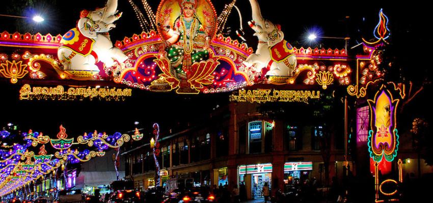 Deepavali Little India Street Light Up Honeycombers Singapore photography Choo Yut Shing