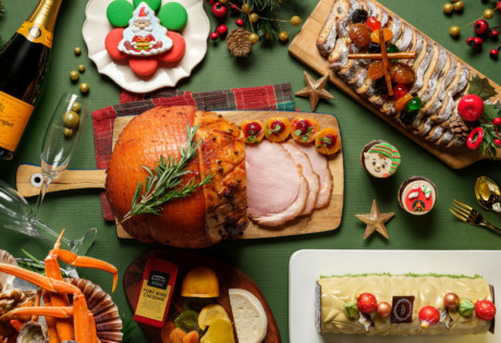 Christmas buffets in Singapore (Photography via Pan Pacific Singapore)