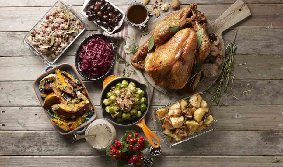 Christmas buffets and takeaways at Hotel Jen Tanglin Singapore Orchard Road