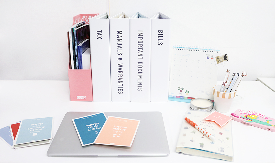Sorted in Singapore: desk organisers for a productive work day in the office