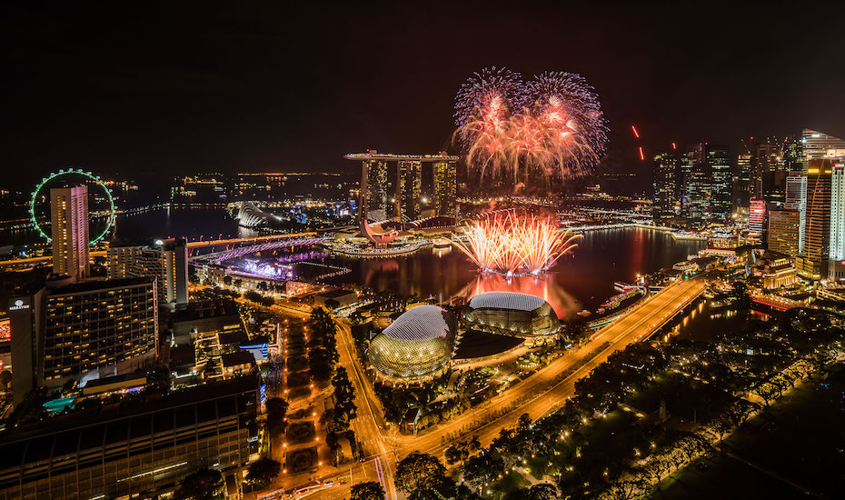 New Year's Eve parties: Fireworks and a carnival at Marina Bay Singapore Countdown 2018