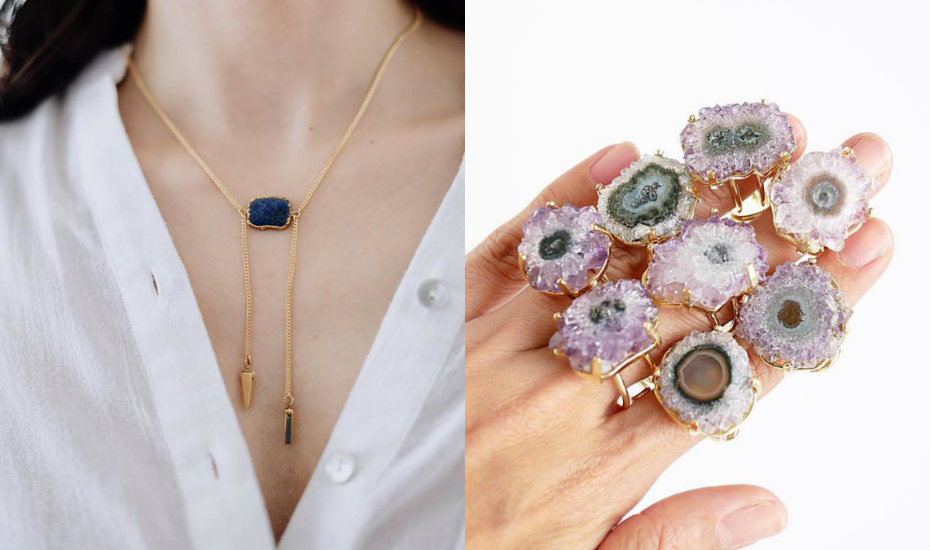 Stuff with crystals we love