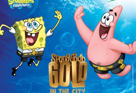 SpongeBob Gold in the City Honeycombers Singapore