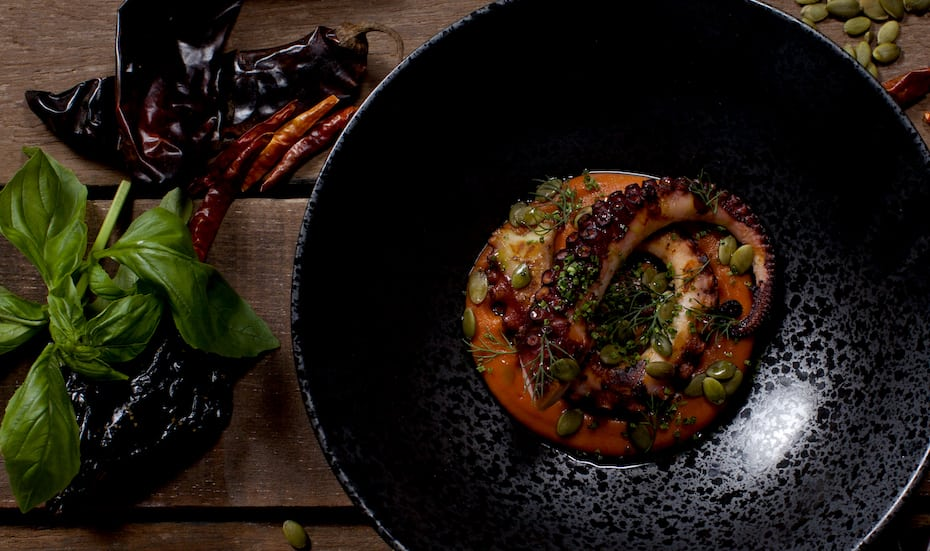 Casa Poncho grilled octopus Hot New Tables Honeycombers Singapore