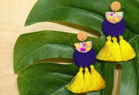 Statement earrings in Singapore: Rouge Trinkets