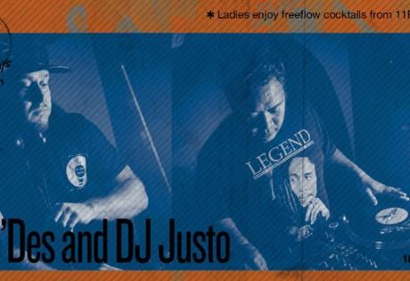 Kilo Lounge Thursdays DJ Justo Ollie'Des Honeycombers Singapore