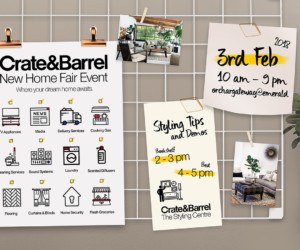 Crate and Barrel New Home Fair 2018 Honeycombers Singapore