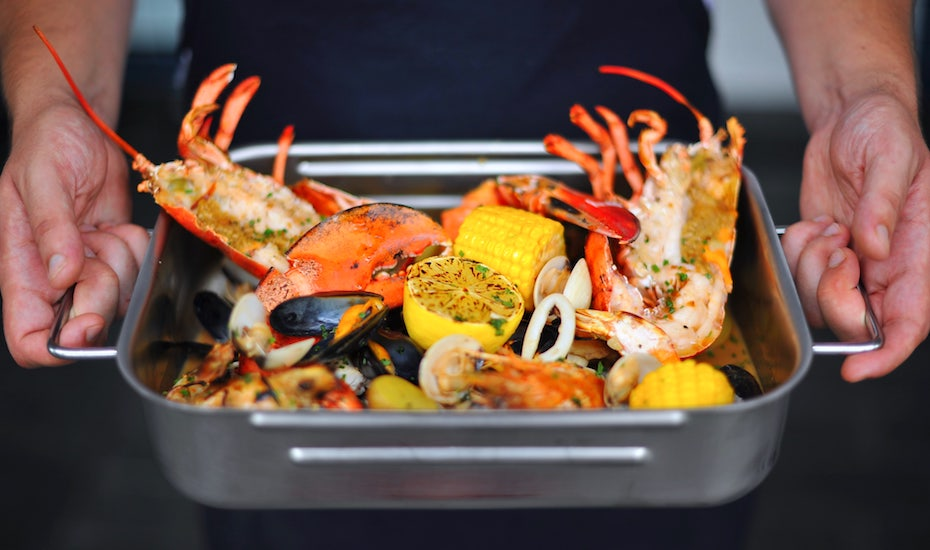 Bayswater Kitchen Seafood Sunday brunch Honeycombers Singapore