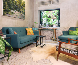 Inside a Tiong Bahru apartment with serious vintage style