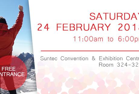 Swiss Education Fair Suntec Honeycombers Singapore