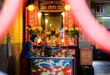 Singapore's Chinatown, photographed by Meera Jane Navaratnam of Asia Photo Collective