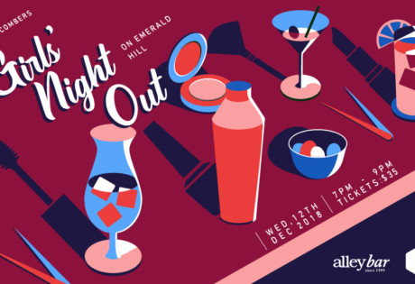 Honeycombers Girls Night Out at Alley Bar Emerald Hill