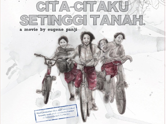 free  full movie cita-citaku setinggi tanah