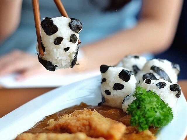 The rice at Itadakimasu is almost too cute to eat. Photo: Food Directory/Itadakimatsu