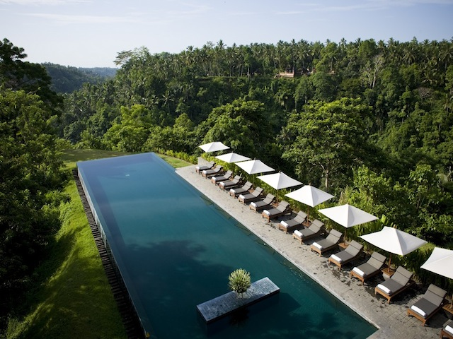 Alila Ubud's oh-so-pretty pool
