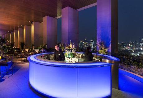 The bar at K22. Photo: Fairmont Jakarta