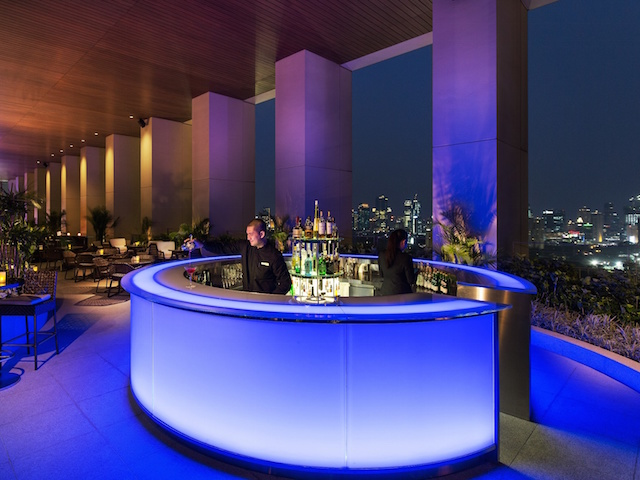 The bar at K22. Photo: Fairmont Jakarta